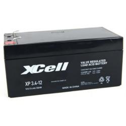 XP3.4-12, XCELL lead-acid batteries, 12 volts, XP series