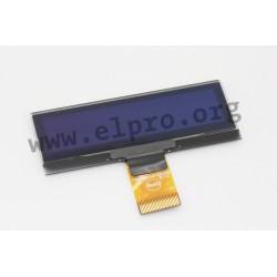 DEP128032A-W, Display Elektronik OLED LCD displays, 128x32