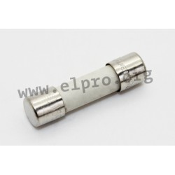 0001.2511, Schurter fuse links, 5x20mm, time lag, 250V, SPT 5x20 series
