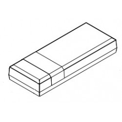 PP036W-S, Supertronic small enclosures, ABS, PP series