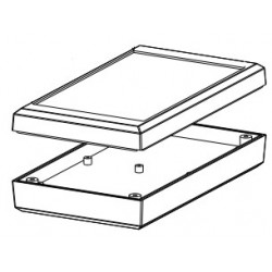 PP038W-S, Supertronic general purpose enclosures, ABS, PP series