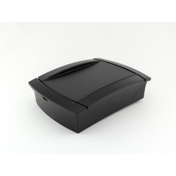 PP109N-S, Supertronic plastic enclosures, ABS, with flanges, PP series