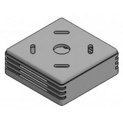 PP116G-S, Supertronic plastic enclosures, ABS, PP series