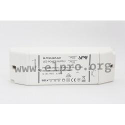 SLT150-24VLG-E, Self LED drivers, 150W, IP20, constant voltage, SLT150-VLG-E series