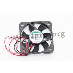D04124480G-00, Sunon fans, 40x40x6mm, 5V DC, MF series