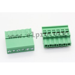 2EDGKB-5.08-04P-14-1000AH, Degson terminal multiconnectors, pitch 5,08mm, 18A, 320V, screw-cage clamp principle, 90°, 2EDGKB-5.0