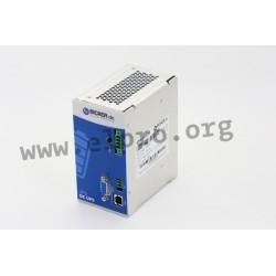 UPSI-2406DP2, Bicker Elektronik uninterruptible power supplies UPS, 12 to 24V, with supercaps, UPSI-DP series