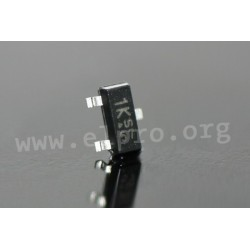 2N7002K, ON Semiconductor SMD small signal MOSFETs, SOT23 housing, 2N/FDV/NDS series