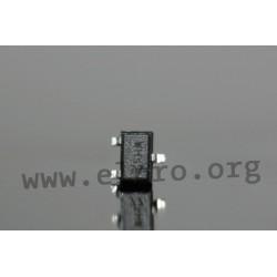 DTA114EU3T106, Rohm SMD digital transistors, SOT23/SOT323/SOT723 housing, DTA and DTC series