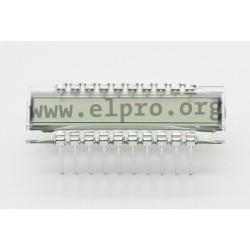 DE188RU-30/7,5(3V), liquid crystal displays LCD