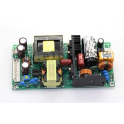 ECP225PS24, XP Power switching power supplies, 225W forced air, for medical technology, open frame PCB, ECP225 series