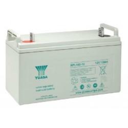 NPL100-12, Yuasa lead-acid batteries, 12 volts, NPL series