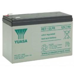 RE7-12LFR, Yuasa lead-acid batteries, 12 volts, RE/REC/REW series