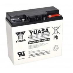 , Yuasa lead-acid batteries, 12 volts, RE/REC/REW series