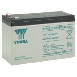 REW45-12, Yuasa lead-acid batteries, 12 volts, RE/REC/REW series