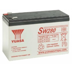 SW280, Yuasa lead-acid batteries, 12 volts, SW and SWL series