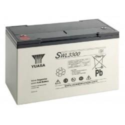 SWL3300, Yuasa lead-acid batteries, 12 volts, SW and SWL series