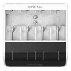 1001-0093, Ansmann fast chargers, for NiMH batteries, Comfort series