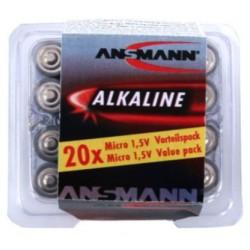 5015538, Ansmann alkaline manganese batteries, 1,5V/9V, Alkaline and Industrial series