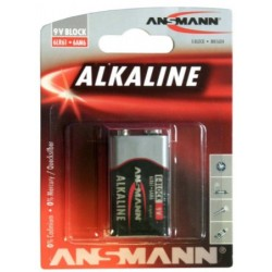 1515-0000, Ansmann alkaline manganese batteries, 1,5V/9V, Alkaline and Industrial series