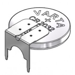 6032 401 019, Varta lithium button cells, with soldering lug, 3V, CR series