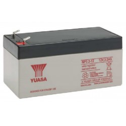 NP3.2-12, Yuasa lead-acid batteries, 12 volts, NP series