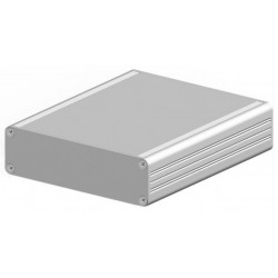 AKG 105 22 160 ME, Fischer small aluminium enclosures, natural-coloured anodised, AKG series