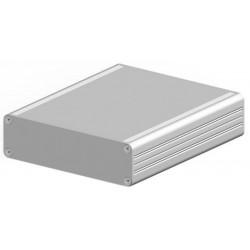 AKG 105 30 160 ME, Fischer small aluminium enclosures, natural-coloured anodised, AKG series