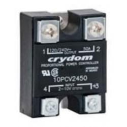 10PCV2425, Sensata/Crydom solid state relays, 25A, 280V, thyristor output, AC voltage, Hockey-Puck housing, PCV series