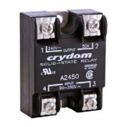 A2425, Crydom solid state relays, 10 to 90A, 280V, thyristor output, CSD/CSW/A24/D24/MCPC series