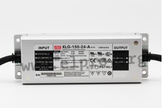 Mean Well LED switching power supplies, 150W, CV and CC (mixed mode),  constant power, IP67, dimmable, XLG-150 series - elpro Elektronik