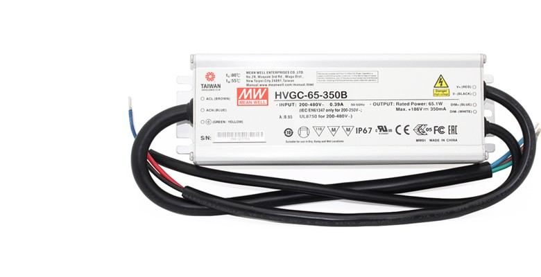 Mean Well LED power supply series HVGC-65