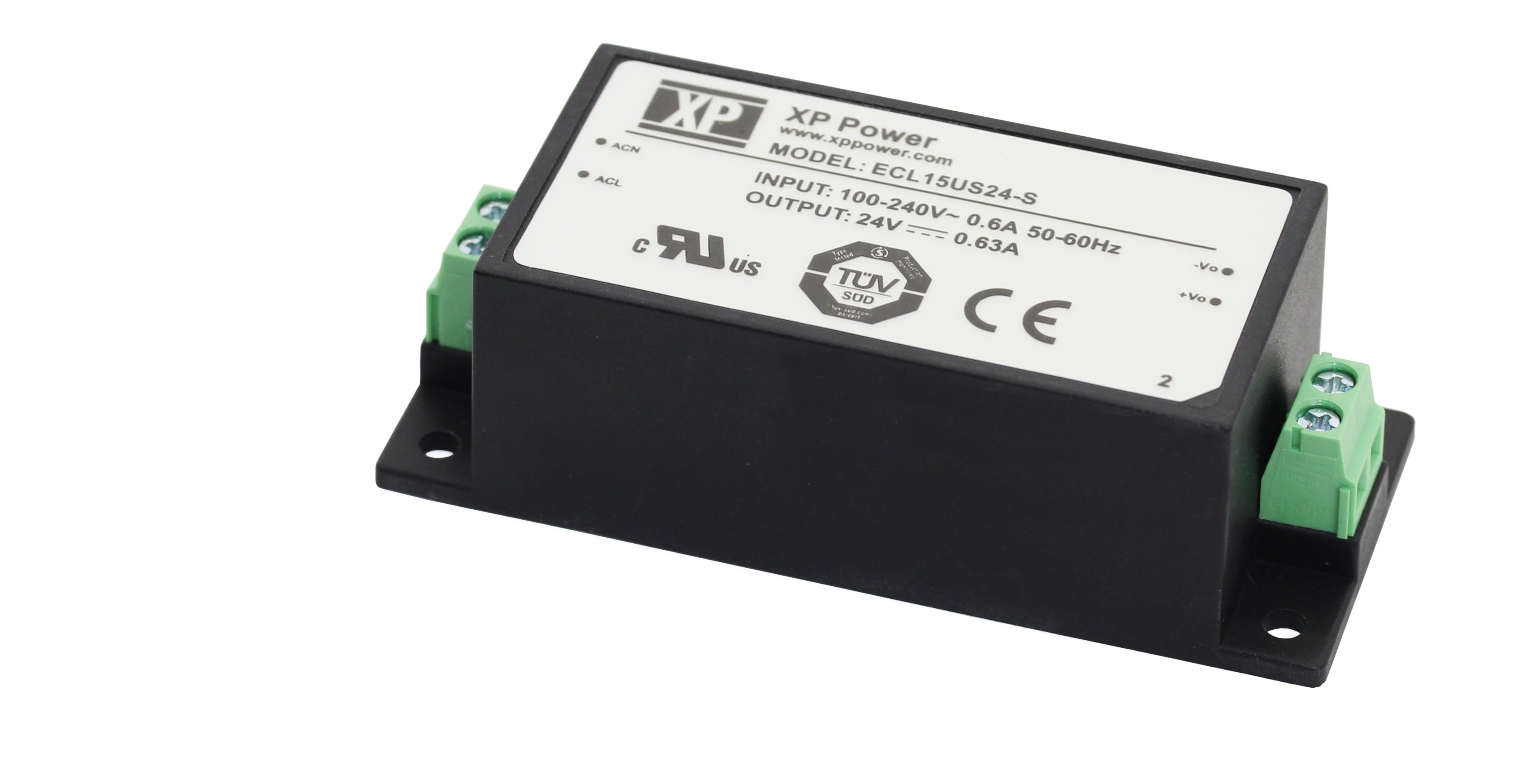 XP Power power supply series ECL15
